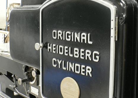 Original Heidelberg Cylinder